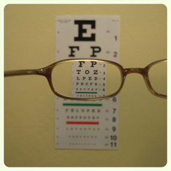 eyeglass exams in santa rosa